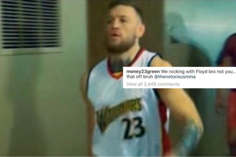 Conor McGregor and Draymond Green hilariously battle on Instagram